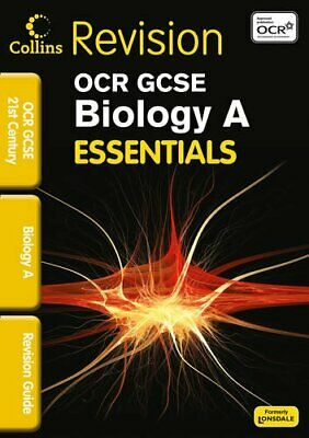 OCR 21st Century Biology A: Revision Guide (Collin... by Woodcock, Bob Paperback
