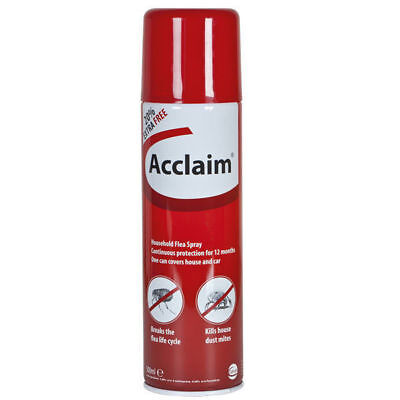 Acclaim Household Flea Dust Mite Spider Spray - Cat Dog Animal Protection 500ml