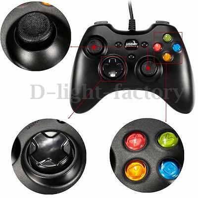 MANETTE Joystick Filaire USB Jeux Pad GamePad Pr WINDOWS WIN 7 8 VISTA XP PC NEW