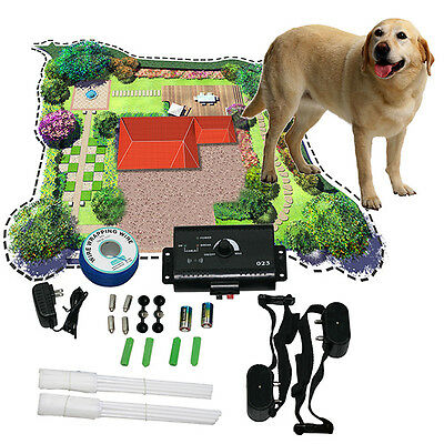 NEW Underground Electric Dog Pet Fencing Fence Shock Collar Containment System