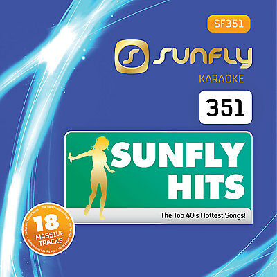 Sunfly Karaoke Hits 351 CD+G/CDG May 2015