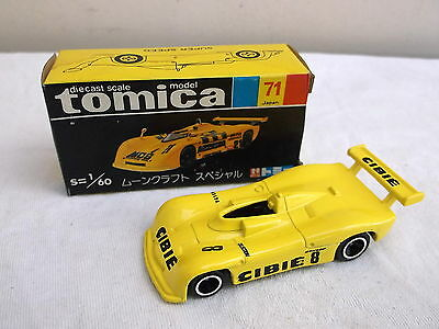 TOMICA no 71 1/60 Moon Craft Special  -  yellow #8