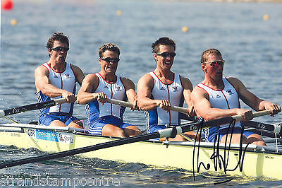 "Matthew Pinsent Colour 10""x 8"" Signed Olympic Rowing Photo - UACC RD223"