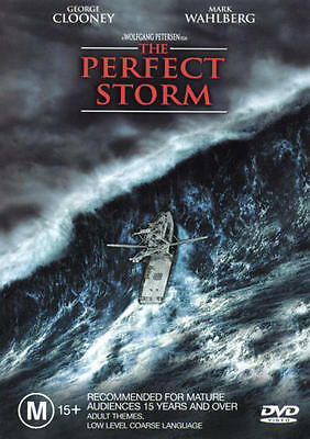 The Perfect Storm * NEW DVD * George Clooney Mark Wahlberg (Region 4 Australia)
