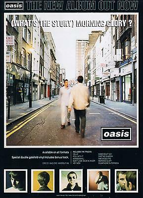 OASIS Morning Glory POSTER Print Noel Gallagher A4 A3 Poster OA03 BUY2 GET 1FREE