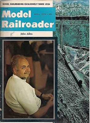 MODEL RAILROADER - April 1973  (L5)