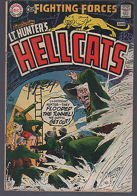 Our Fighting Forces #119 Lt. Hunter's Hellcats Very Good DC 1954 Series CBX1V