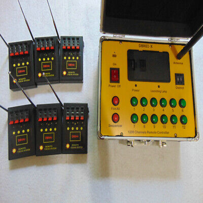 Display 24 Cues wireless remote Controll electric new CE fireworks firing system