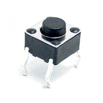 (10 PCS) Momentary Tactile Push Button Switch PCB 6X6mm X 5mm. USA SELLER!!!