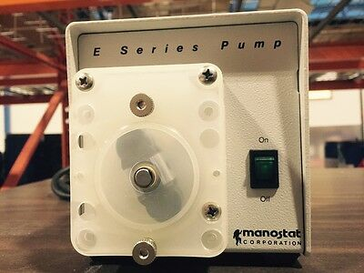 Manostat E SERIES Peristaltic pump - Never Used - Like New!