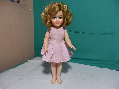 """Ideal Vintage 15"""" Shirley Temple Doll ST-15-N Doll"""
