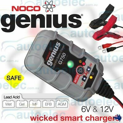 Noco Genius Trickle & Maintain Battery Charge Charger Motorbike Jet Ski 12V G750