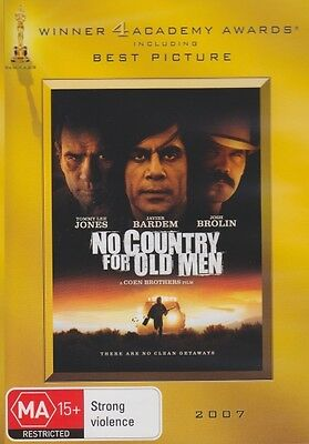 No Country for Old Men (Academy Awards) * NEW DVD * (Region 4 Australia)