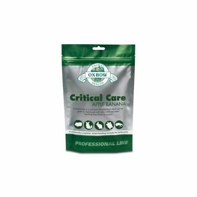 Oxbow Animal Health Critical Care Apple Banana Premium  Recovery Food 141g