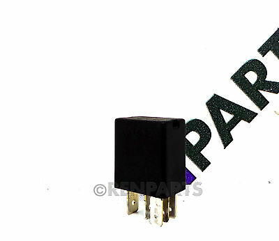 Renault Clio Megane Scenic Electrical Relay Black 12v 5 Pin Fuse 7700141484 UCH