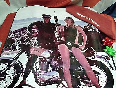 "BSA Dealer Poster 1968 441 Victor Re-Manufactured Copy 36"" x 24"""
