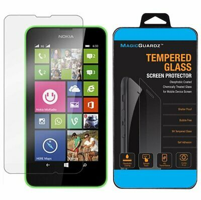 Premium Real New 9H Tempered Glass Film Screen Protector for Nokia Lumia 635 630