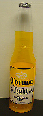"Corona Light Beer Bottle 30"" Inflatable Blow Up Sign New"
