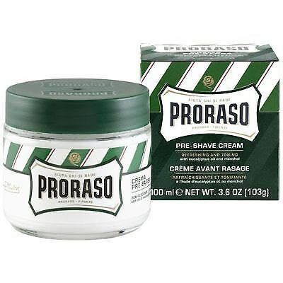 Proraso Pre Shave Cream with Eucalyptus and Menthol - 100ml