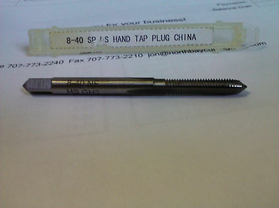 8-40 Gh2 High Speed Steel Plug Tap