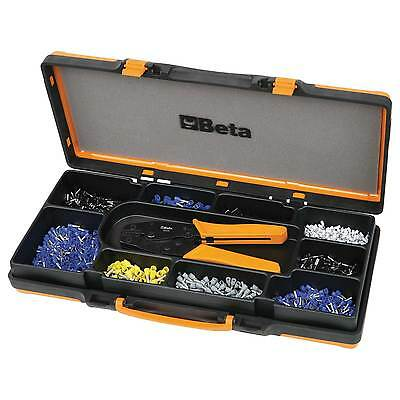 Beta Professional Crimping Pliers - 450 Assorted Terminal Tools Set - 1606A/C9
