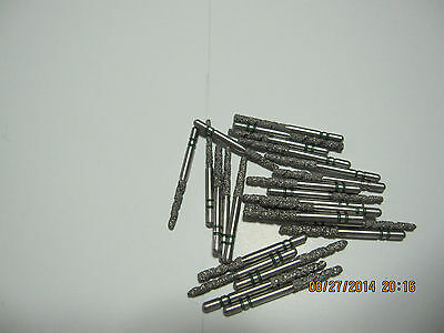Lot of 25 premier two striper dental TS2000 diamond burs, brand new