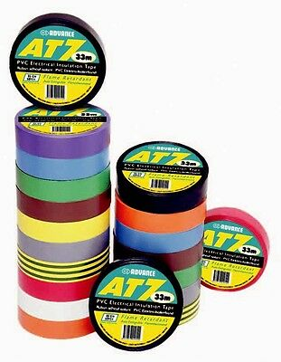 Advance AT7 Electrical Insulation Tape Flame Retardant & Electro-Plating Yellow