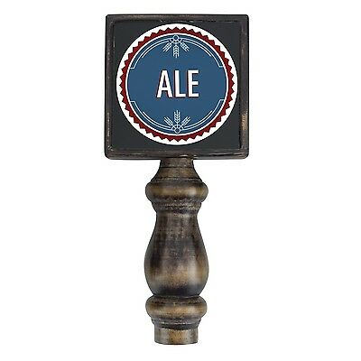Beer Tap Handle With Changeable Labels - Ale/IPA/Pilsner/Stout/Porter/Custom