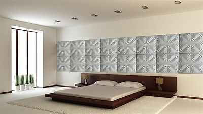 3D WALL CEILING PANELS POLYSTYRENE TILES (Pack of 40) 10 Sqm - STAR 3D