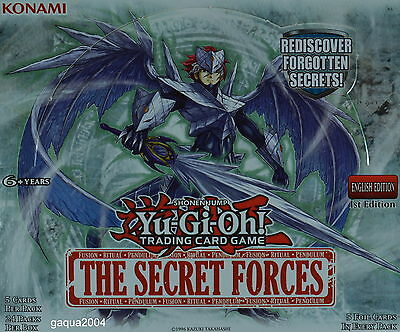 YuGiOh The Secret Forces THSF Secret Rare 1st Edition Choose from list