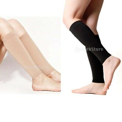 Leg Calf knee High Support Compression Sleeves Socks Stockings Brace 30-40mmHg