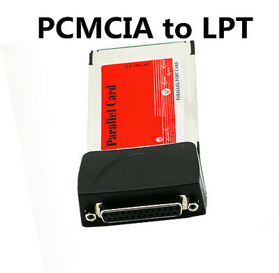 High Speed PCMCIA Cardbus to LPT parallel port adapter for laptop Notebook Hot B