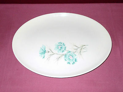 Vintage Taylor Smith Taylor SERVING PLATTER Boutonniere 11 INCH  OVAL