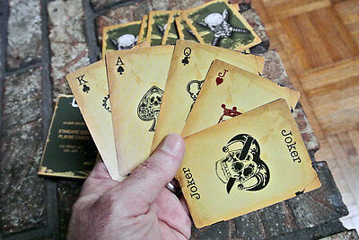 KABAR KNIVES USA TACTICAL FIELD DECK - UPDATED WWII ISSUE SOLDIER PLAYING CARDS