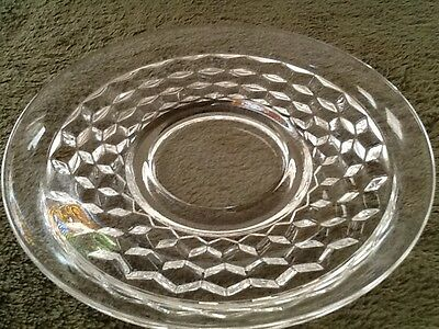 """American Fostoria Saucer for a Cup """"SAUCER ONLY"""" 5-3/4 in Mint"""