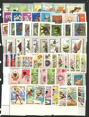 Vietnam 59 Different Mint Stamps All Complete Sets - Special Lot
