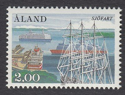 ALAND : 1984 2m Shipowners Society  SG16 never-hinged mint