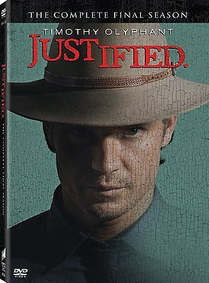 Justified: The complete Final Season 6 six PREORDER SHIPS JUN 9TH PREORDER