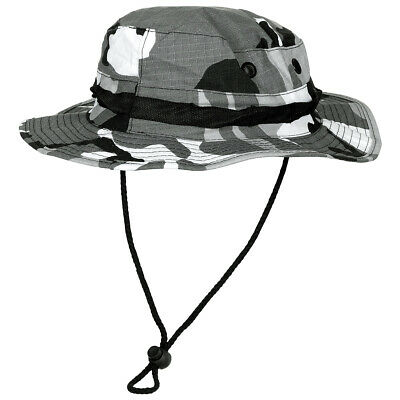 6bf875fa428 Us Army Gi Boonie Bush Jungle Cappello Escursioni Trekking 100% Cotone  Ripstop U