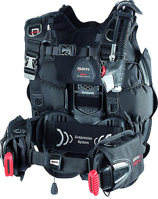 Mares Hybrid Pure Dive Scuba Diving Men's BCD Buoyancy Compensator XS/SM