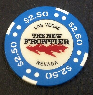 The New Frontier $2.50 Casino Chip Las Vegas Nv Bjones Mold 1998 Free Shipping