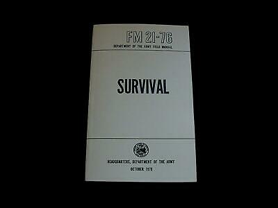 U.s Department Of The Army Survival Handbook