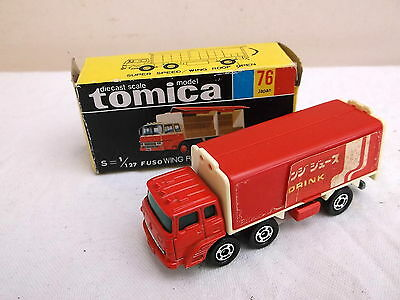 TOMICA no76 1/127 FUSO Wing Roof Truck