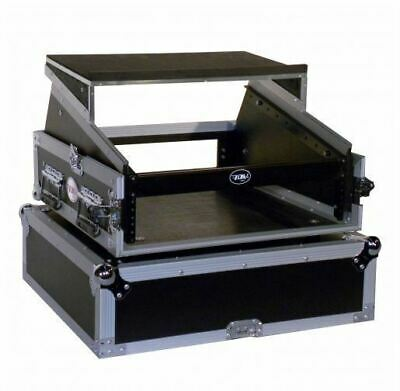 Pro X T-2MR LT 2U x 10U Space Slant Combo DJ Rack Case+FREE Sliding Laptop Shelf