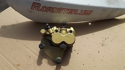 sfm 125 sfm125 roadster front brake caliper with pads working