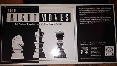 1995 Discovery Toys The Right Moves Self-Teaching Chess Set Sealed