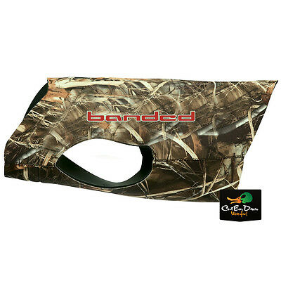 New Banded Gear Sporting Dog 3Mm Neoprene Parka Hunting Vest Max-4 Camo 2Xl