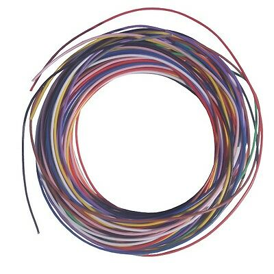 7/0.2mm Extra Hookup Wire Pack 11x Colours 22 Metres