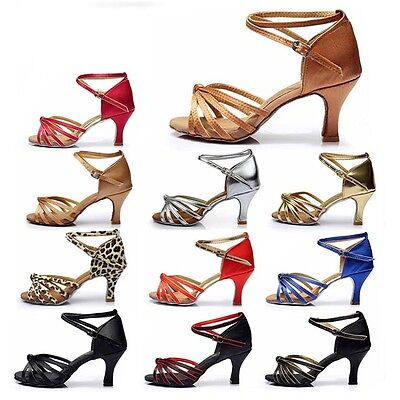 Ballroom Brand New Latin Dance Shoes for Women/Ladies/Girls/Tango&Salsa heeled