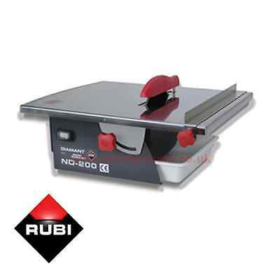 Rubi ND200 Wet Tile Saw 110v Tile Cutter ND 200 Electric Saw
